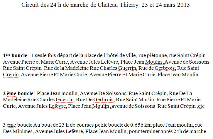 23 mars 2013: 24 heures de Chateau-Thierry Chatea11