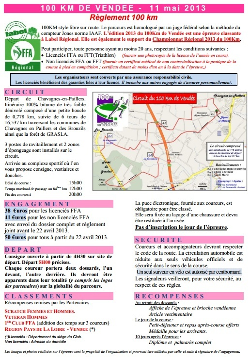100km de Vendée (Chavagnes en Paillers) / 15h : 11 mai 2013 Chavag11