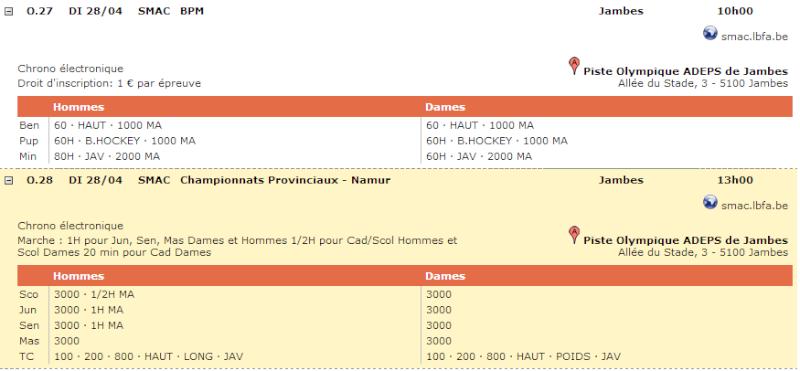 Chpts provinciaux à Namur (B):1h et divers: 28/4/2013 Jambes10