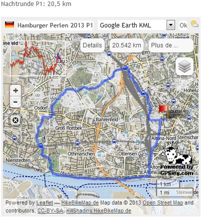 Hamburger Perlenwanderung (D), 102 km : 8-9 mars  2013 Perlen10