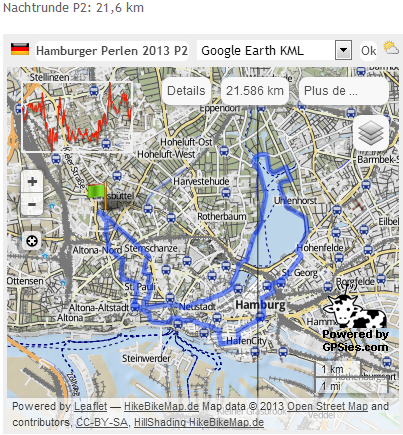 Hamburger Perlenwanderung (D), 102 km : 8-9 mars  2013 Perlen11