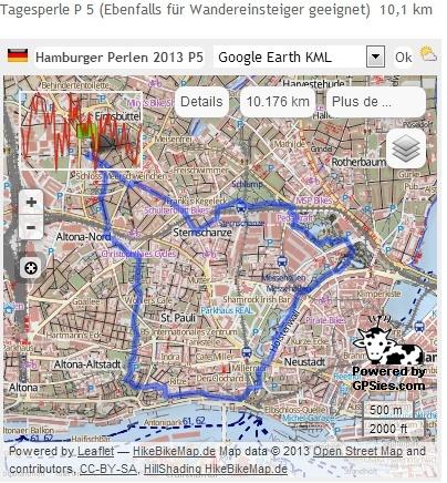 Hamburger Perlenwanderung (D), 102 km : 8-9 mars  2013 Perlen12