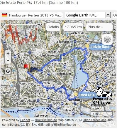 Hamburger Perlenwanderung (D), 102 km : 8-9 mars  2013 Perlen13