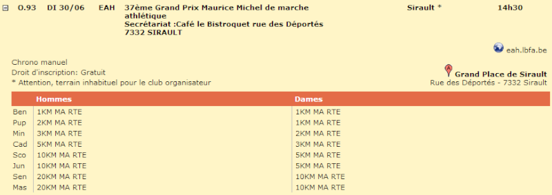 37ème Grand Prix Maurice Michel (20km Sirault): 30/06/2013 Siraul10