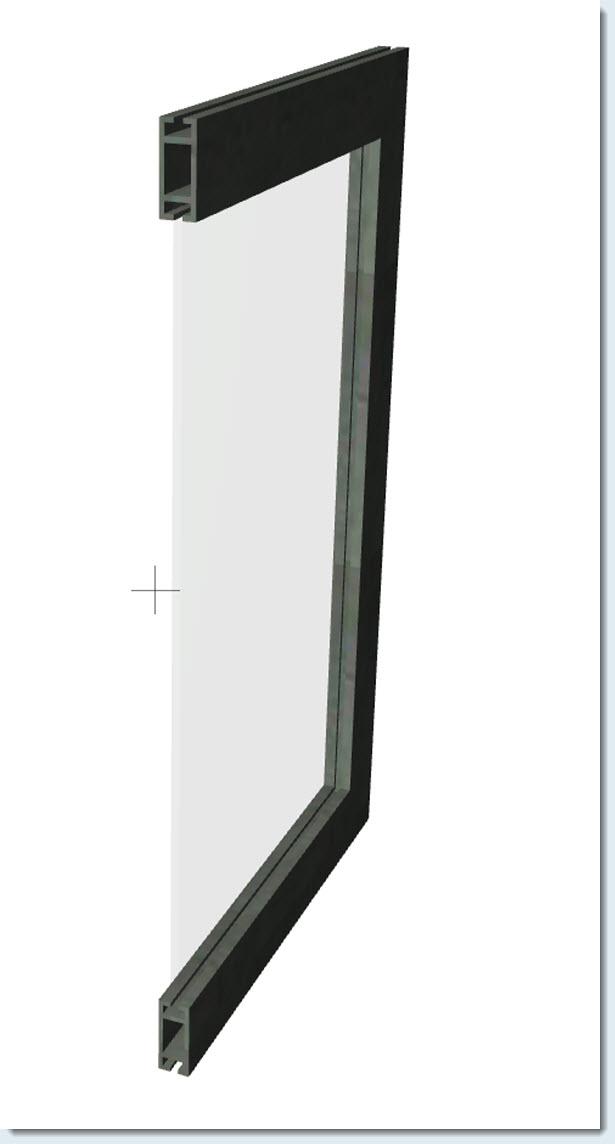 ....hacer un marco de ventana con un perfil propio, usando la herramienta Forma? 16030820