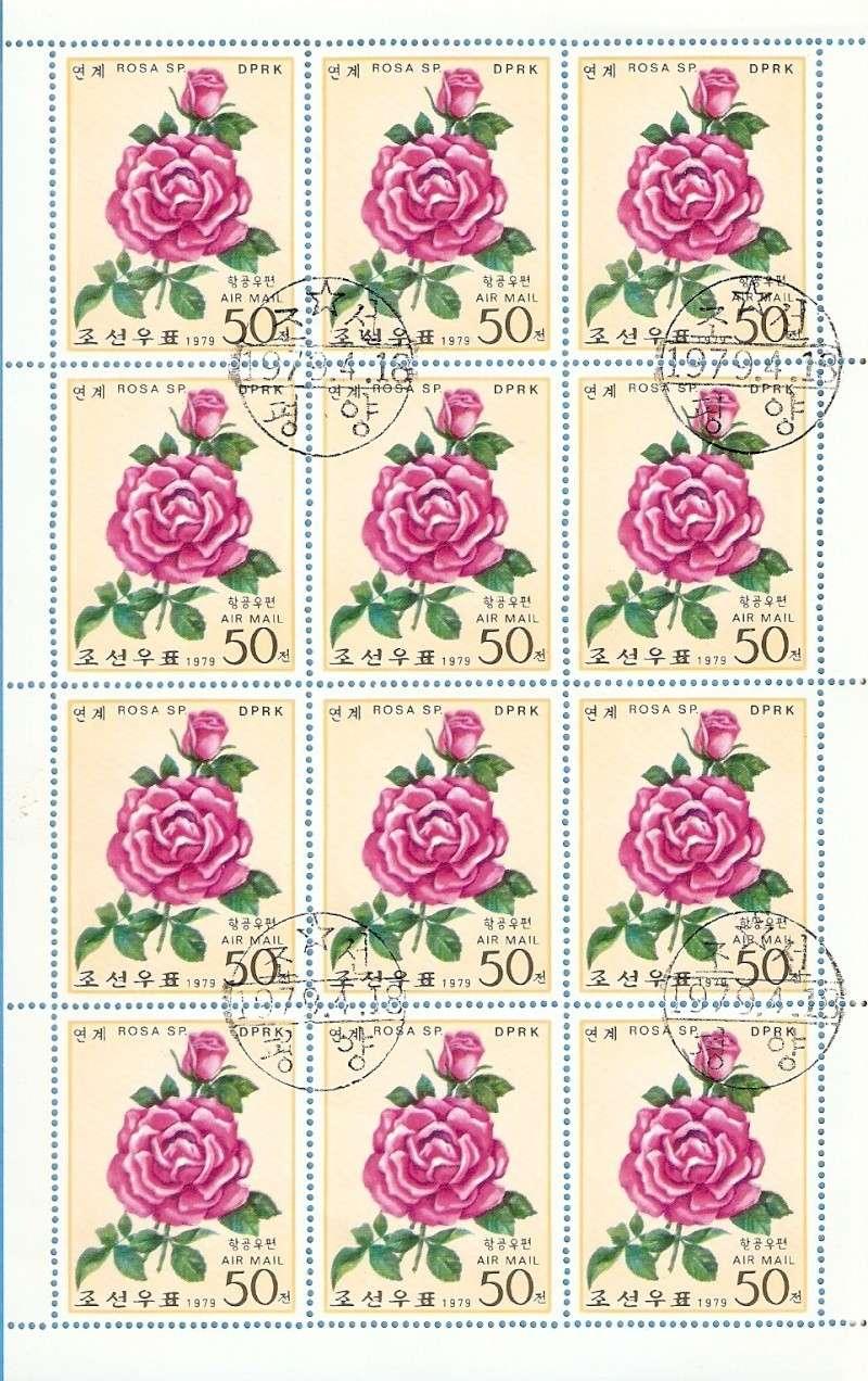 Rosen aus Nord-Korea Kleinbogen Mi 1826 Blog_029