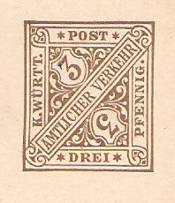 Alte Post aus Württemberg Bmforu26