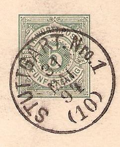 Alte Post aus Württemberg Bmforu29