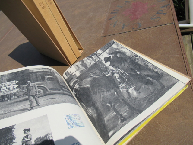 ecrin de 3 livres ww2 edition de 44/45/46 Photos roger Schall - PHILPENS - JUIN 1 a cloturer Trouva28