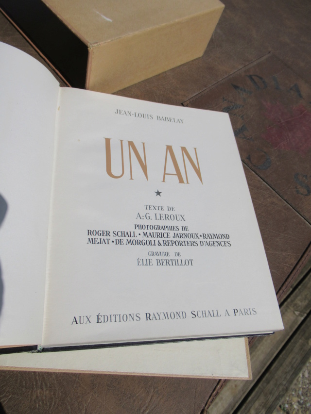 ecrin de 3 livres ww2 edition de 44/45/46 Photos roger Schall - PHILPENS - JUIN 1 a cloturer Trouva47
