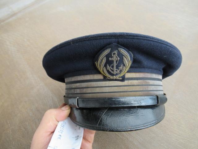 Casquette officier de marine WW2 Ventes19