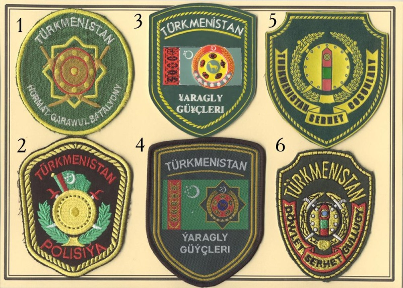 Turkmenistan patches Turkme10