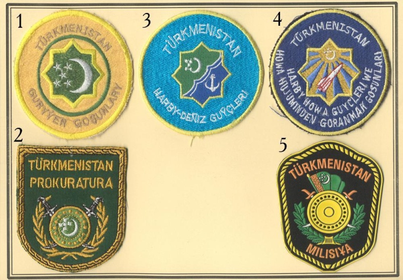 Turkmenistan patches Turkme11