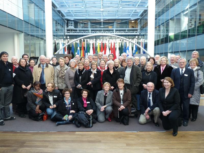 Compiègne visite les institutions européennes. Visite10