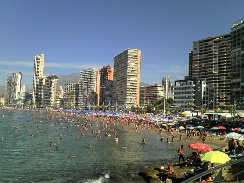 Spain, Costa Blanca, Benidorm C360_225