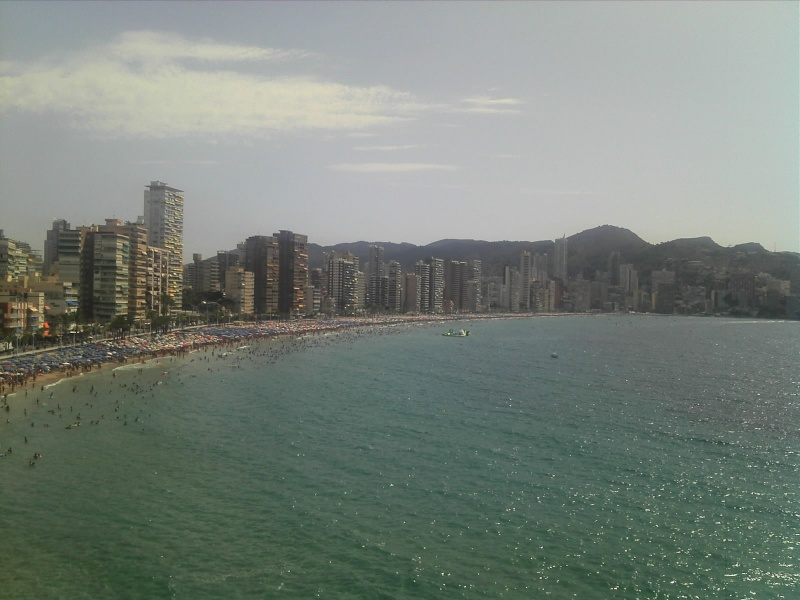 Spain, Costa Blanca, Benidorm to Finestrat walk  C360_255