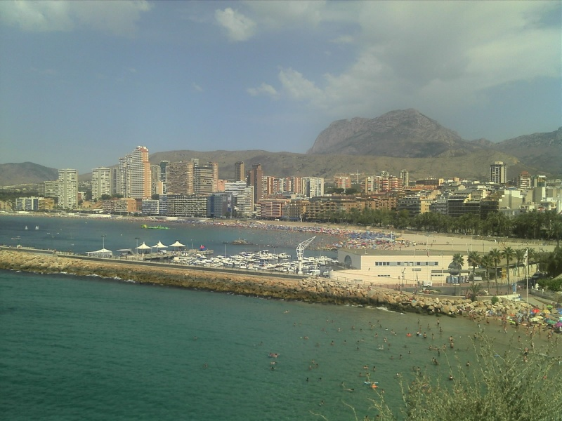 Spain, Costa Blanca, Benidorm to Finestrat walk  C360_259
