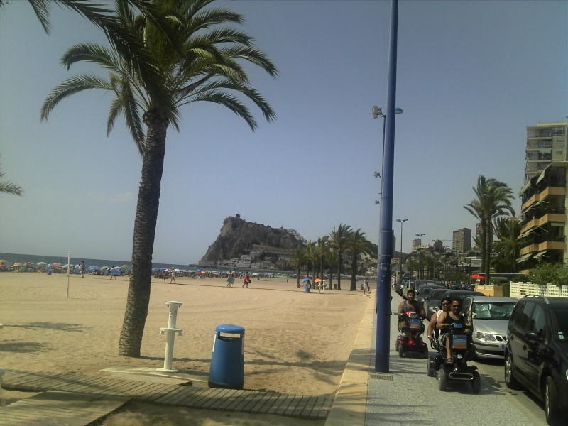 Spain, Costa Blanca, Benidorm to Finestrat walk  C360_266