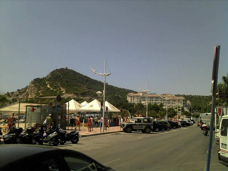 Spain, Costa Blanca, Benidorm to Finestrat walk  C360_281