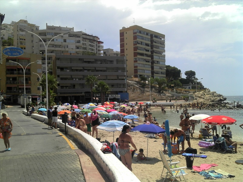 Spain, Costa Blanca, Benidorm to Finestrat walk  C360_283