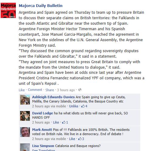 Argentina and Spain team up against Britain Gib10