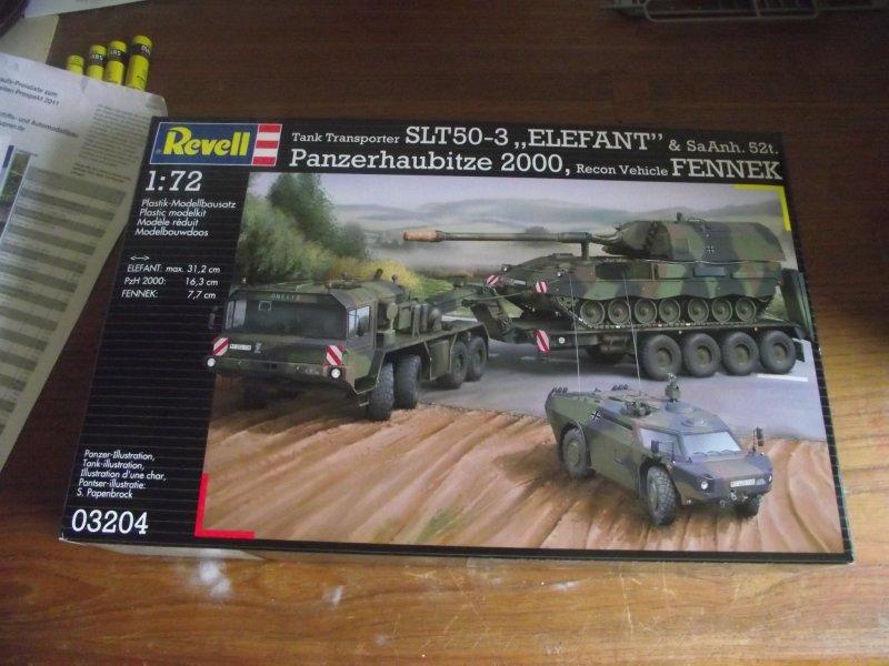 """SLT 50-3 """"ELEFANT"""" & PzH 2000 & FENNEK Revell 1:72 Bild_010"""