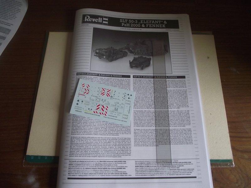 """SLT 50-3 """"ELEFANT"""" & PzH 2000 & FENNEK Revell 1:72 Bild_011"""