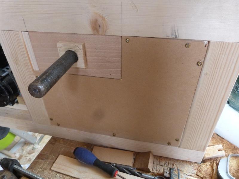 [Fabrication] Scie à ruban en bois - Page 6 P1040911