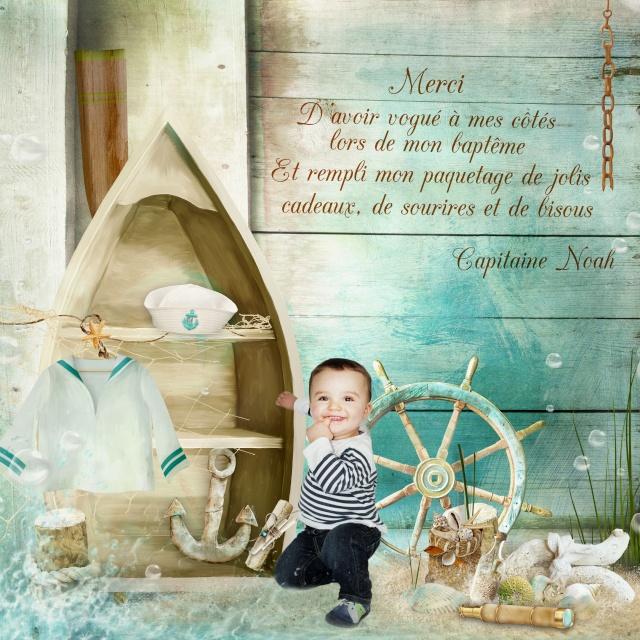 Couverture album photo baptême Remerc11
