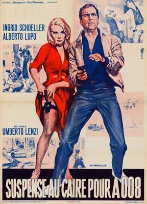 Suspense au Caire pour A008 ( A 008 Operazione Sterminio ) – 1965 – Umberto Lenzi Affich12