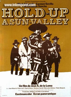 Hold-Up à Sun Valley (El más fabuloso golpe del Far-West) - 1971 - José Antonio de la Loma En151910