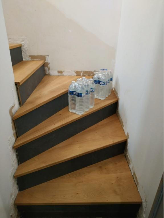 marche bois ou parquet stratifié  sur escalier carrelage - Page 2 Img_2010