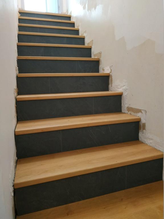 marche bois ou parquet stratifié  sur escalier carrelage - Page 2 Img_2011