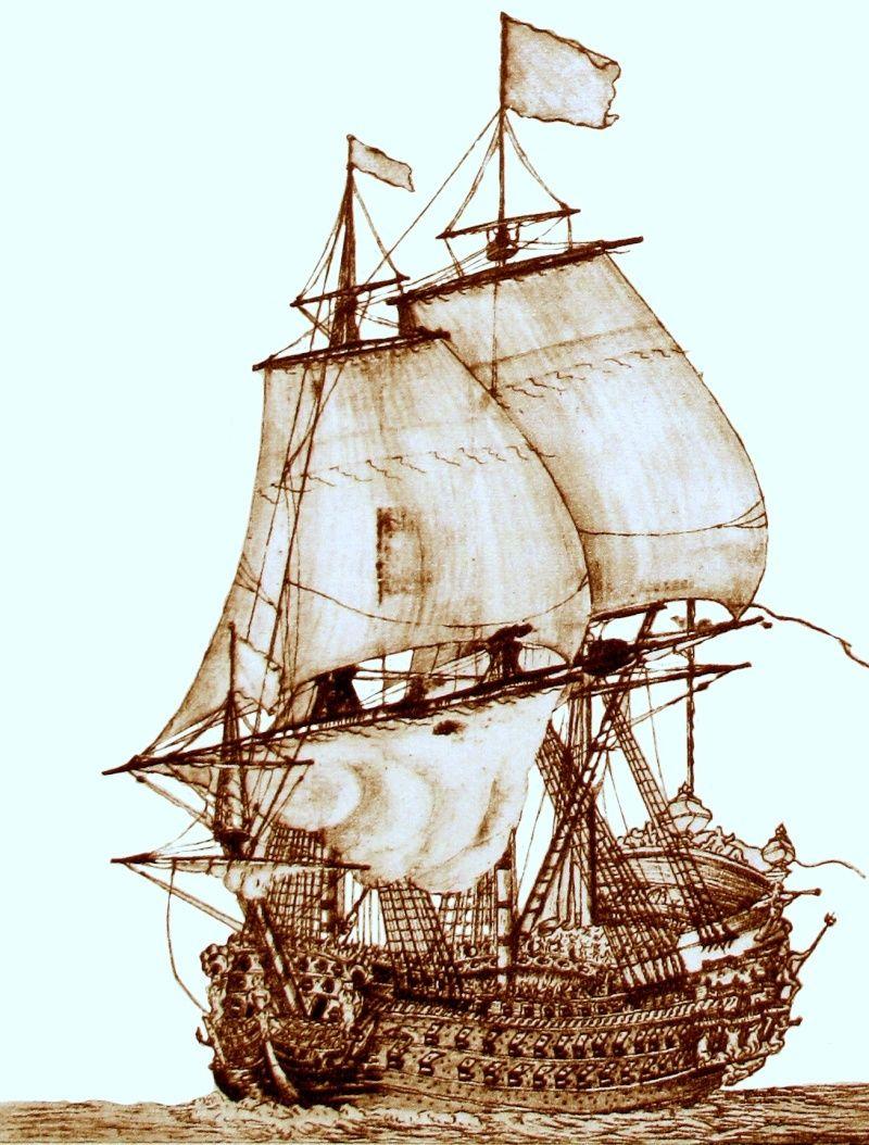 la description complète de royal louis de 1668 Royal_11