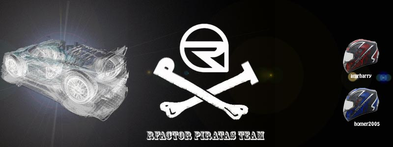 nuevo logo RFACTOR PIRATAS TEAM Rfacto16