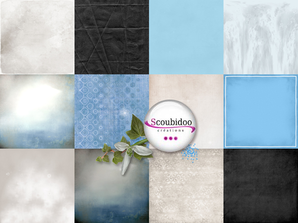 "kit ""Blue Style"" chez scrapmalin  Scoubi17"