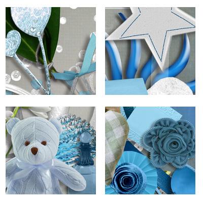 "kit ""Blue Style"" chez scrapmalin  Scoubi18"