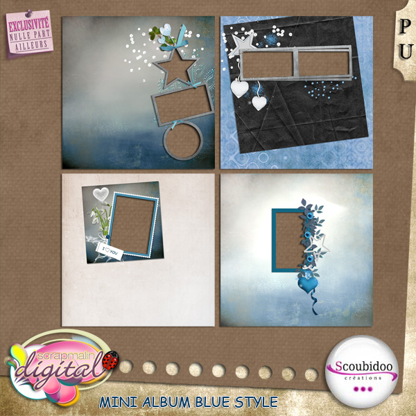"kit ""Blue Style"" chez scrapmalin  Scoubi19"