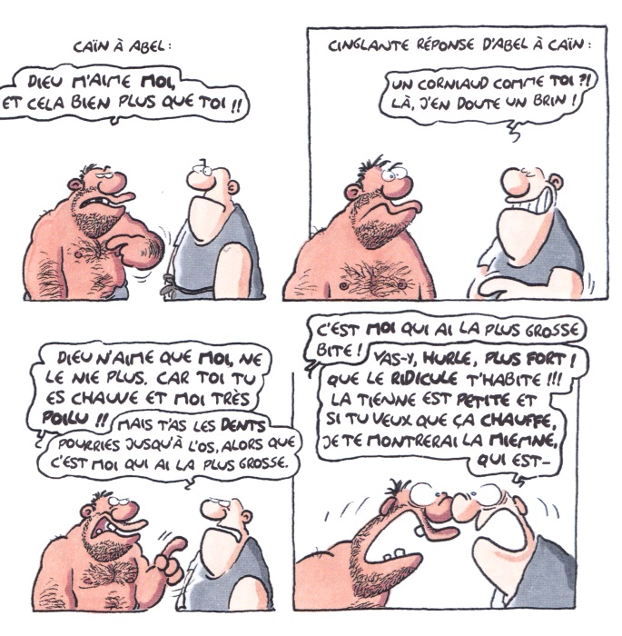 [Comic] Ralf König Archet11