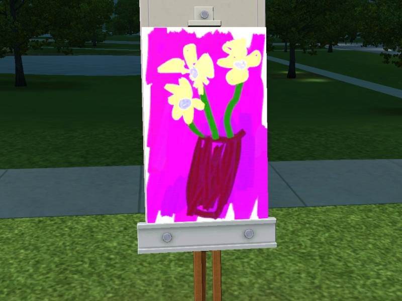 Brush Strokes - What's your Sim Painting? Scree111