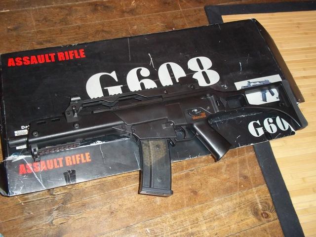 G36C JG+ boite d'origine + batterie 9.6 + 2 chargeurs 10003510