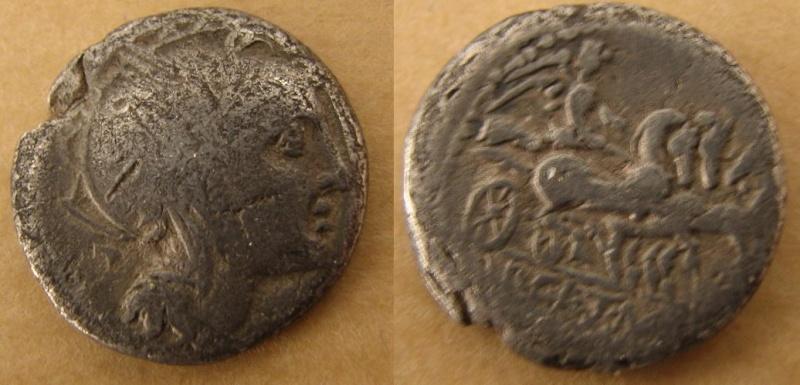 denier d'Ap. Claudius Pulcher, T. Manilus Mancinius & Q. Urbinius Denier10