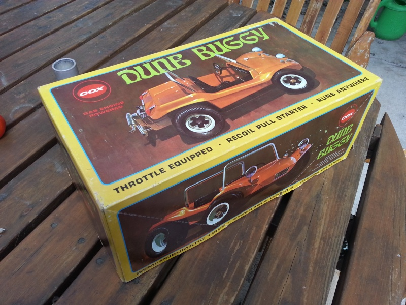 Found a Cox Dune Buggy in its Box! -810