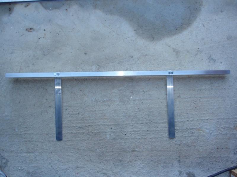 fabrication d'un porte canne pour float tube P3200417