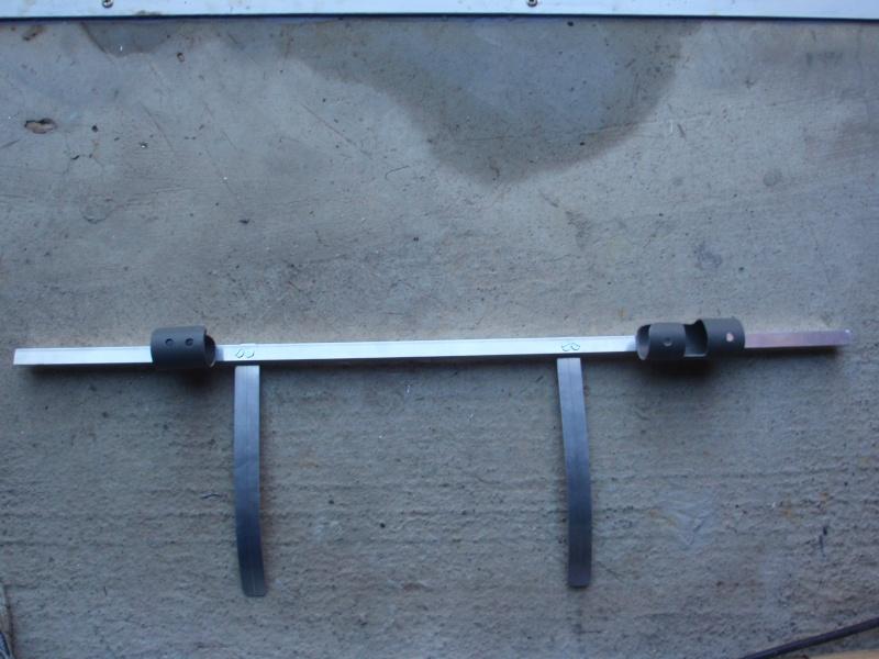 fabrication d'un porte canne pour float tube P3200418