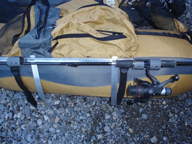 fabrication d'un porte canne pour float tube P3200422