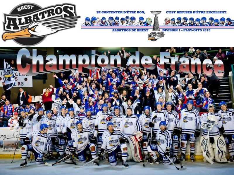 Play Offs Championnat DIvision 1 : Finale Match 2 : Brest - Lyon du 20/04/2013 18H40 40073210