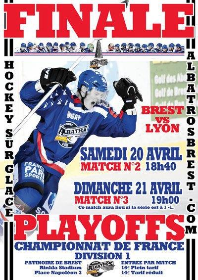 Play Offs Championnat DIvision 1 : Finale Match 2 : Brest - Lyon du 20/04/2013 18H40 Brest_11