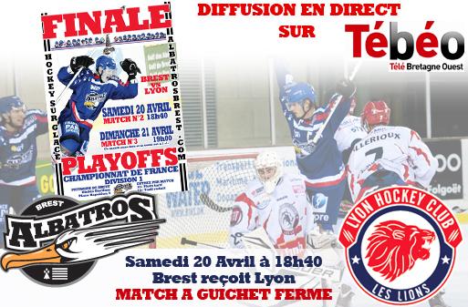 Play Offs Championnat DIvision 1 : Finale Match 2 : Brest - Lyon du 20/04/2013 18H40 Brest_12