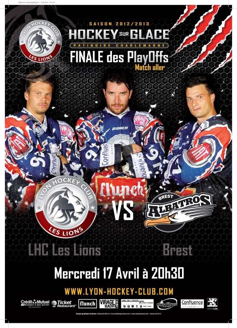 Play Offs Championnat Division 1 : Finale Match 1 : Lyon - Brest du 17/04/2013  (20H) Lyon_b10